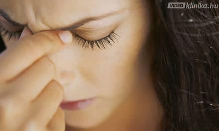 alvás után a látás homályos